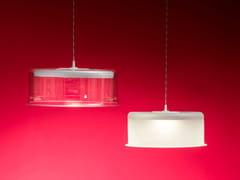 Lampada a sospensione a LED a luce diretta in vetro borosilicatoNEBULOSA - ALBUM ITALIA