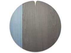 Tovaglietta rotonda in legnoNELUMBO COLD BLUE BRASS | Tovaglietta - LEONARDO TRADE