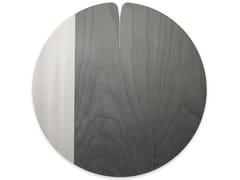 Tovaglietta rotonda in legnoNELUMBO COLD GREY | Tovaglietta - LEONARDO TRADE