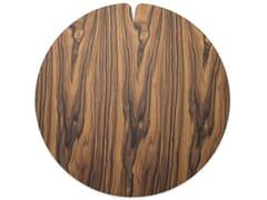 Tovaglietta rotonda in legnoNELUMBO WARM ROSEWOOD | Tovaglietta - LEONARDO TRADE