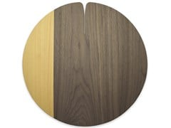 Tovaglietta rotonda in legnoNELUMBO COLORS YELLOW | Tovaglietta - LEONARDO TRADE