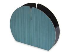 Portatovagliolo in legnoNELUMBO COLD BLUE TAY | Portatovagliolo - LEONARDO TRADE