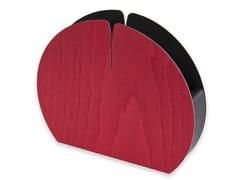 Portatovagliolo in legnoNELUMBO COLORS RED | Portatovagliolo - LEONARDO TRADE