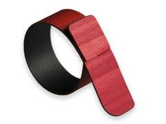 Portatovagliolo in legnoNELUMBO COLORS RED | Portatovagliolo in legno - LEONARDO TRADE