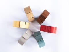 Set 6 pezzi portatovaglioli in legnoNELUMBO - LEONARDO TRADE