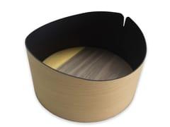 Contenitore in legnoNELUMBO COLORS YELLOW | Contenitore - LEONARDO TRADE