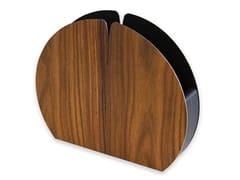 Portatovagliolo in legnoNELUMBO WARM ROSEWOOD | Portatovagliolo - LEONARDO TRADE