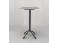 Tavolo alto rotondo in alluminio NEMO | Tavolo alto - Nemo