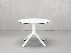 Tavolino rotondo in alluminio per contract NEMO | Tavolino rotondo - Nemo