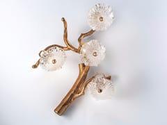 Applique fatta a mano in vetro di Murano NENUFAR | Applique in vetro di Murano - Nenufar