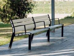 URBIDERMIS, NEOROMÁNTICO INSIDE Panchina con braccioli con schienale