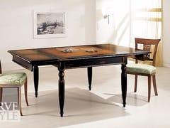 Tavolo allungabile in legno masselloNERONE - ARVESTYLE
