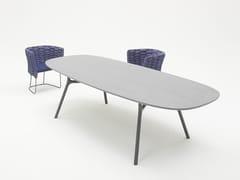 Tavolo da pranzo ovale in legno NESSO | Tavolo ovale - Nesso