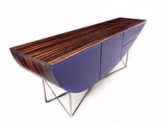 Consolle rettangolare in legno con cassetti NESSUN DORMA | Consolle in legno -