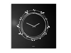 Orologio in lamiera da pareteNEST - DESIGNOBJECT.IT