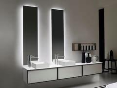 Antonio Lupi Design, NEUTROLED Specchio con illuminazione integrata per bagno