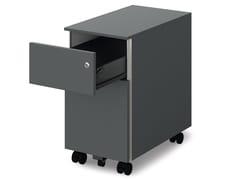 Cassettiera ufficio con ruote e serraturaNEW - BRALCO