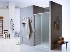 Box doccia a nicchia in vetro con porta scorrevole NEW CLAIRE - 2 - New Claire