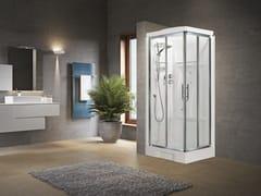 Box doccia angolare con idromassaggio con porta scorrevole NEW HOLIDAY A80 - New Holiday