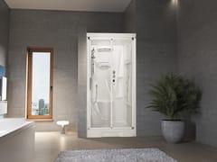 Box doccia a nicchia con idromassaggio con porta scorrevole NEW HOLIDAY BI120 - New Holiday