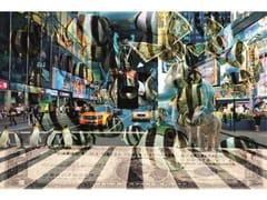 Stampa artistica in pannello di alluminioNEW YORK PINGUINS - MONDIART INTERNATIONAL