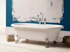 Vasca da bagno ovale in BluStoneNEWPORT - BLUBLEU