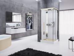 Box doccia multifunzione con porta scorrevole NEXIS A90 - Nexis