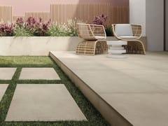 Pavimento/rivestimento in gres porcellanato effetto cemento per interni ed esterniNEXT GREIGE - ARIOSTEA