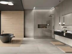 Pavimento/rivestimento in gres porcellanato effetto cemento per interni ed esterniNEXT GREY - ARIOSTEA