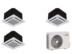 Climatizzatore multi-split a cassetta a soffittoNEXYA S4 E Cassette Inverter Multi - OLIMPIA SPLENDID GROUP