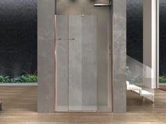 Box doccia a nicchia in vetro con porta scorrevoleILLUSION   Box doccia a nicchia - MEGIUS