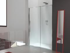 Box doccia a nicchia rettangolare in vetro con porta scorrevoleZEN XL | Box doccia a nicchia - MEGIUS
