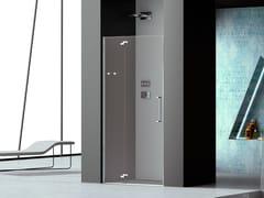 Box doccia a nicchia in vetro con porta a battentePRISMA 2.0 | Box doccia a nicchia - MEGIUS