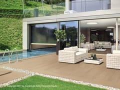 Pavimento per esterni in gres porcellanato effetto legno NID FLOOR | Pavimento per esterni - Nid