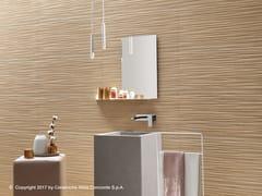 Rivestimento tridimensionale in ceramica a pasta bianca NID WALL | Rivestimento tridimensionale - Nid
