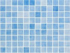 Mosaico antiscivolo in vetro per interni ed esterniNIEVE AZUL CELESTE 25251 SEDA ANTISLIP - ONIX CERÁMICA