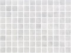 Mosaico antiscivolo in vetro per interni ed esterniNIEVE GRIS 25151 SEDA ANTISLIP - ONIX CERÁMICA