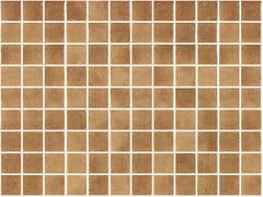 Mosaico antiscivolo in vetro per interni ed esterniNIEVE MARRON 25460 SEDA ANTISLIP - ONIX CERÁMICA