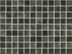Mosaico antiscivolo in vetro per interni ed esterniNIEVE NEGRO 25150 SEDA ANTISLIP - ONIX CERÁMICA
