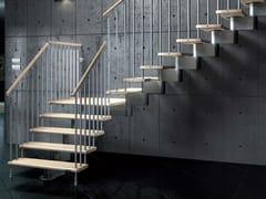 Scala a giorno ad L modulare in alluminio NIKA CZ -