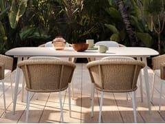 Tavolo da giardino da pranzo rettangolareNIKITA | Tavolo da giardino - SNOC OUTDOOR FURNITURE