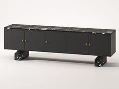 Madia in legno laccato e marmo MarquinaNILDE | Madia in legno - BABATO 1934