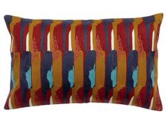 Cuscino rettangolare ricamato in cotoneNINA | Cuscino rettangolare - VIVARAISE