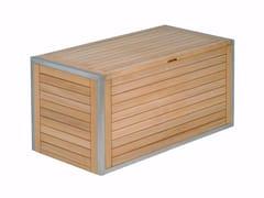 Mobile contenitore da giardino in teakNINIX | Mobile contenitore da giardino - ROYAL BOTANIA