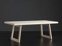 Tavolo da pranzo rettangolare in legno NIZZA + FLAT - ECOLAB 2