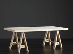 Tavolo da pranzo rettangolare in legno NIZZA + HORSE - ECOLAB 2