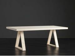 Tavolo da pranzo rettangolare in legno NIZZA + MEKANO - ECOLAB 2