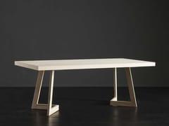 Tavolo da pranzo rettangolare in legno NIZZA + SEVEN - ECOLAB 2