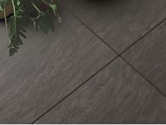 Pavimento/rivestimento in gres porcellanato NO-CODE LAVAGNA ANTRACITE - No-Code