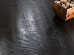 Pavimento/rivestimento in gres porcellanato effetto legno NO-CODE LEGNO LACCATO NERO - No-Code